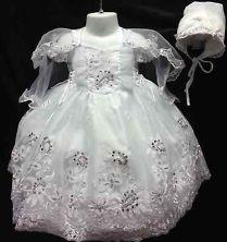 Cleaning a baptism outfit